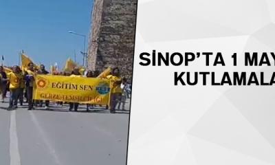 Sinop'ta 1 Mayıs