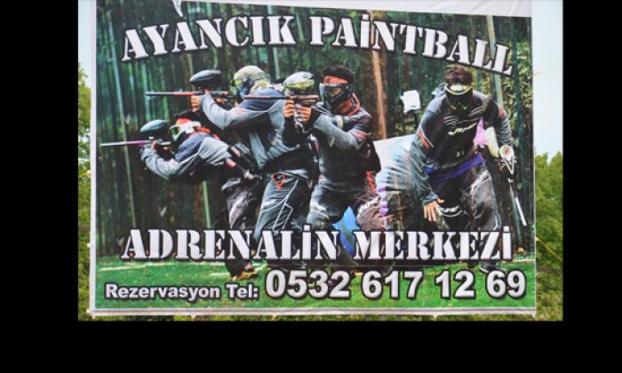 Ayancık'ta Paintball Açıldı