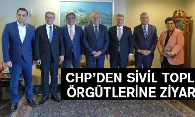 Chp'den Sivil Toplum Örgütlerine Ziyaret