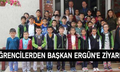 Öğrencilerden Başkan Ergün'e Ziyaret