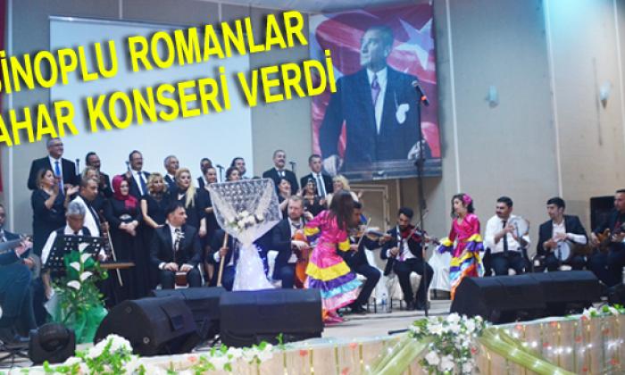 Sinoplu Romanlar bahar konseri verdi