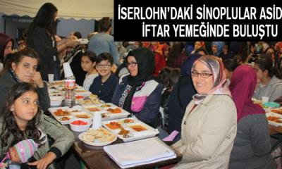 Iserlohn'daki Sinoplular ASİDER'in iftar yemeğinde buluştu