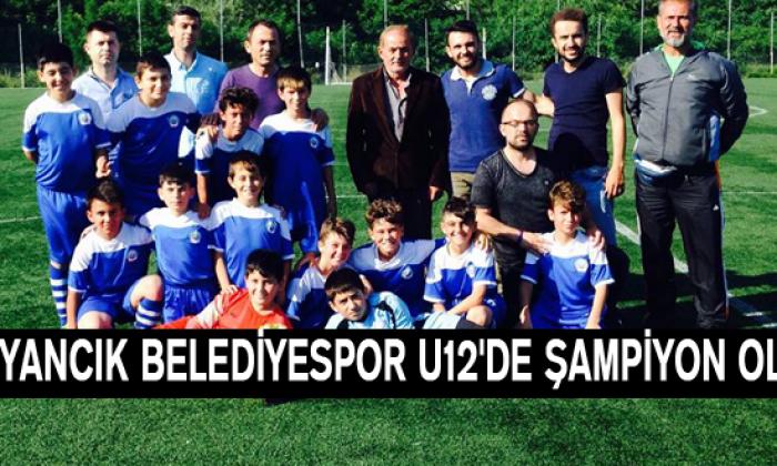 Ayancık Belediyespor U12'de şampiyon oldu