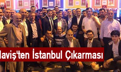 Maviş'ten İstanbul Çıkarması