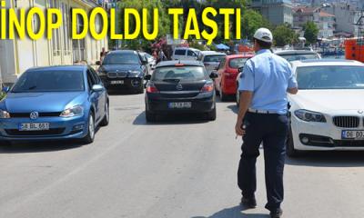 Bayramda Sinop Doldu Taştı