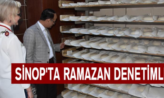 Sinop'ta Ramazan Denetimleri