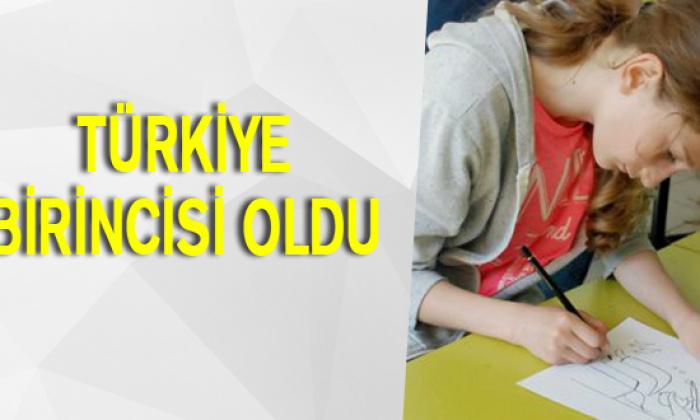 Sinoplu öğrenci Türkiye birincisi oldu