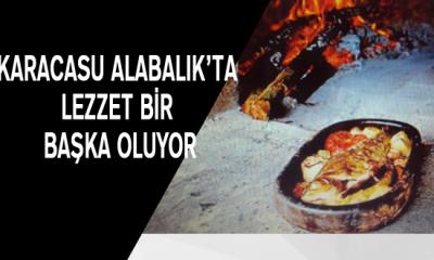 Karacasu Alabalık'ta lezzet bir başka oluyor