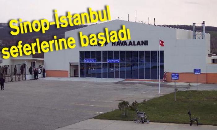 Sinop-İstanbul seferlerine başladı