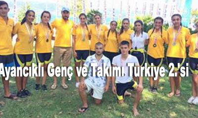 Ayancıklı Genç ve Takımı Türkiye 2.'si
