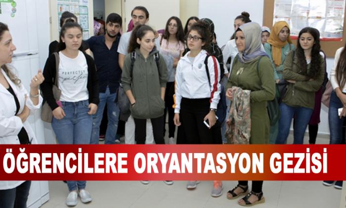 Öğrencilere Oryantasyon Gezisi
