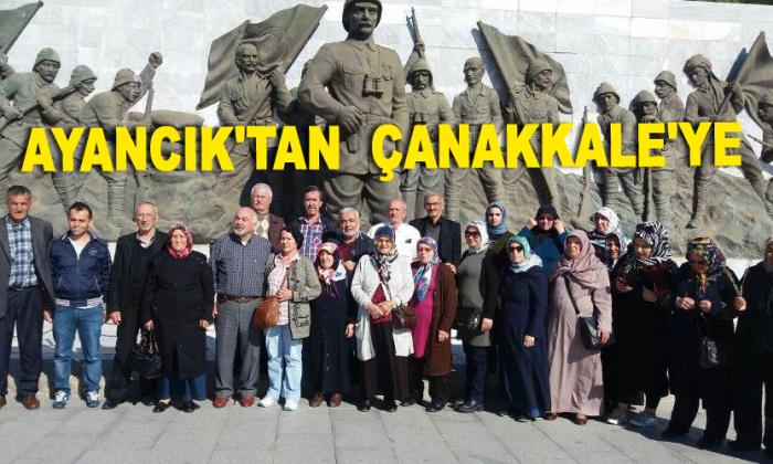 Ayancık'tan Çanakkale'ye