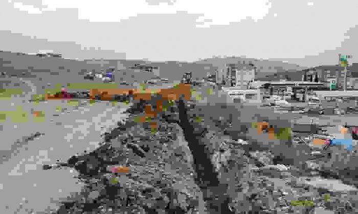 Çamlıca Mahallesi'nde alt yapı atağı