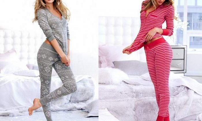 Yeni yıl bayan pijama takımları modelleri