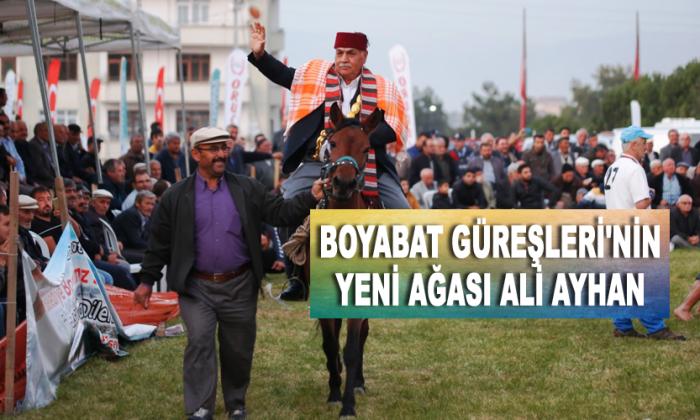 Boyabat Güreşleri'nin yeni ağası Ali AYHAN oldu