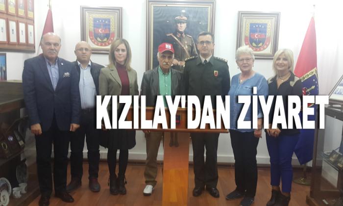 İl Jandarma Komutanı J.Albay Halil Altıntaş makamında ziyaret edildi.