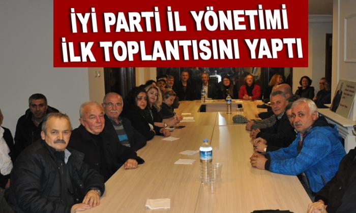 İYİ PARTİ SİNOP'TA İLK TOPLANTISINI YAPTI