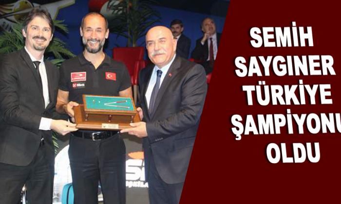 Semih Saygıner Türkiye şampiyonu Oldu