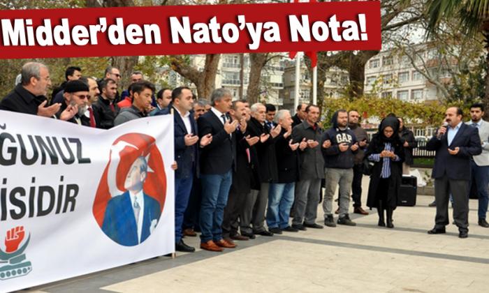 Midder'den Nato'ya Nota!