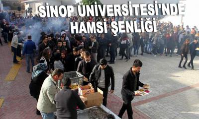Sinop Üniversitesi'nde Hamsi Şenliği