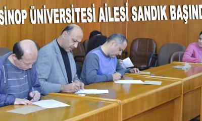 Sinop Üniversitesi Ailesi Sandık Başında