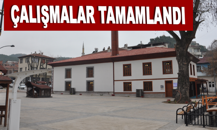 Beyazıt(Büyük) Cami meydan düzenlenme çalışmaları tamamlandı