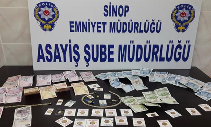 Sinop'tan kaçtı, Polisten kaçamadı