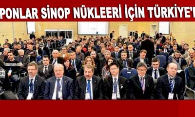 Japonlar Sinop nükleeri için Türkiye'de