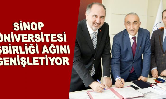 Sinop Üniversitesi işbirliği ağını genişletiyor