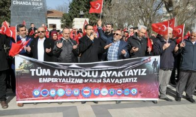 Anadolu ayakta, emperyalizme karşı savaşta!