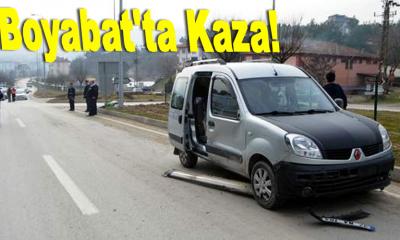 Boyabat'ta Kaza!
