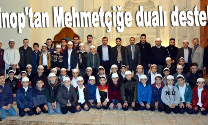Sinop'tan Mehmetçiğe dualı destek