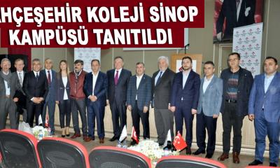 Bahçeşehir Koleji Sinop Kampüsü tanıtıldı
