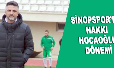 Sinopspor'da Hakkı Hocaoğlu Dönemi