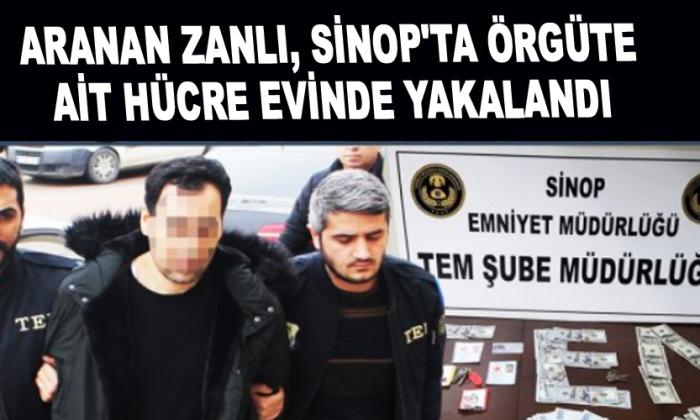 """Aranan """"il imamı"""" Sinop'ta yakalandı"""