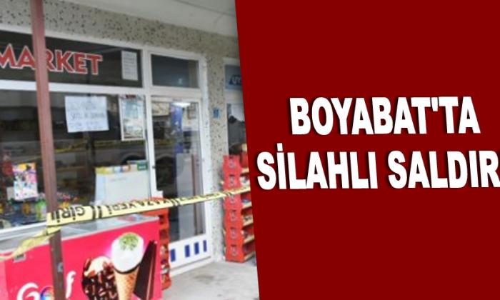 Boyabat'ta silahlı saldırı!