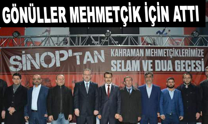Gönüller Mehmetçik için attı