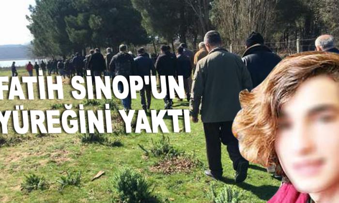 Sinop'un yüreği yandı