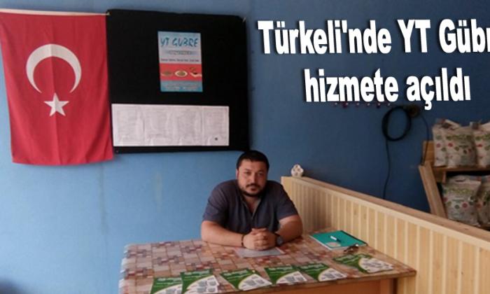 Türkeli'nde YT Gübre hizmete açıldı