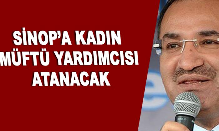 Sinop'a kadın müftü yardımcısı atanacak
