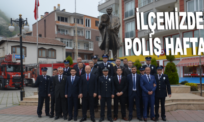 İLÇEMİZDE POLİS HAFTASI