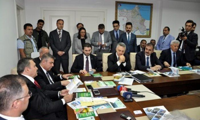 Bakan Eroğlu Sinop'ta