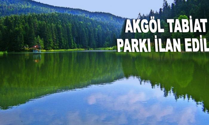 Akgöl Tabiat Parkı İlan Edildi