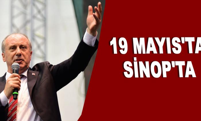 19 Mayıs'ta Sinop'ta