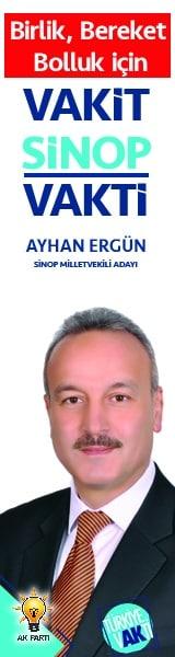 Ak Parti Sinop Milletvekili Adayı Ayhan Ergün