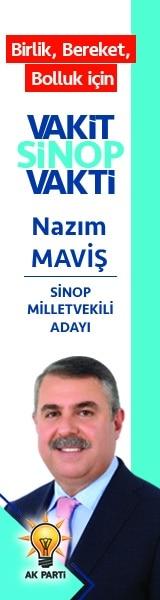 Ak Parti Sinop Milletvekili Adayı Nazım Maviş