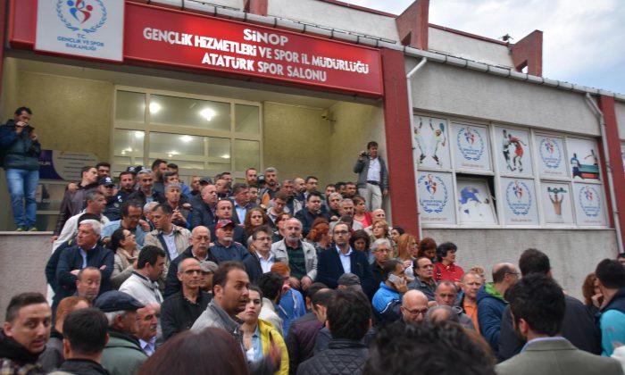 Sinop'ta 16 kişiye hapis