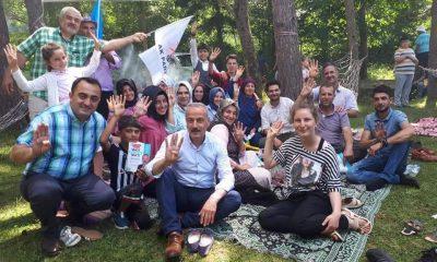AK Parti Sinop Milletvekili Adayı Ayhan Ergün durmak bilmiyor