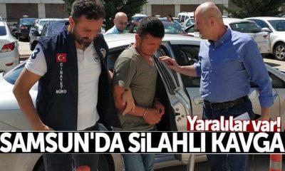 Samsun İlkadım'da Çıkan Silahlı Kavga'da 3 Kişi Yaralandı