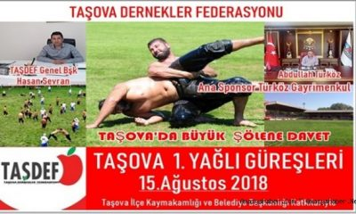 Taşova Yağlı Güreşleri 15 Ağustos'ta Yapılacak